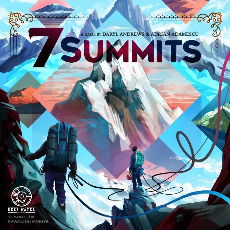настольная игра 7 Summits 7 встреч на высшем уровне
