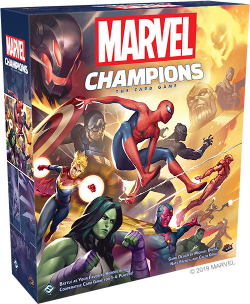 настольная игра Marvel Champions: The Card Game Marvel Champions: карточная игра