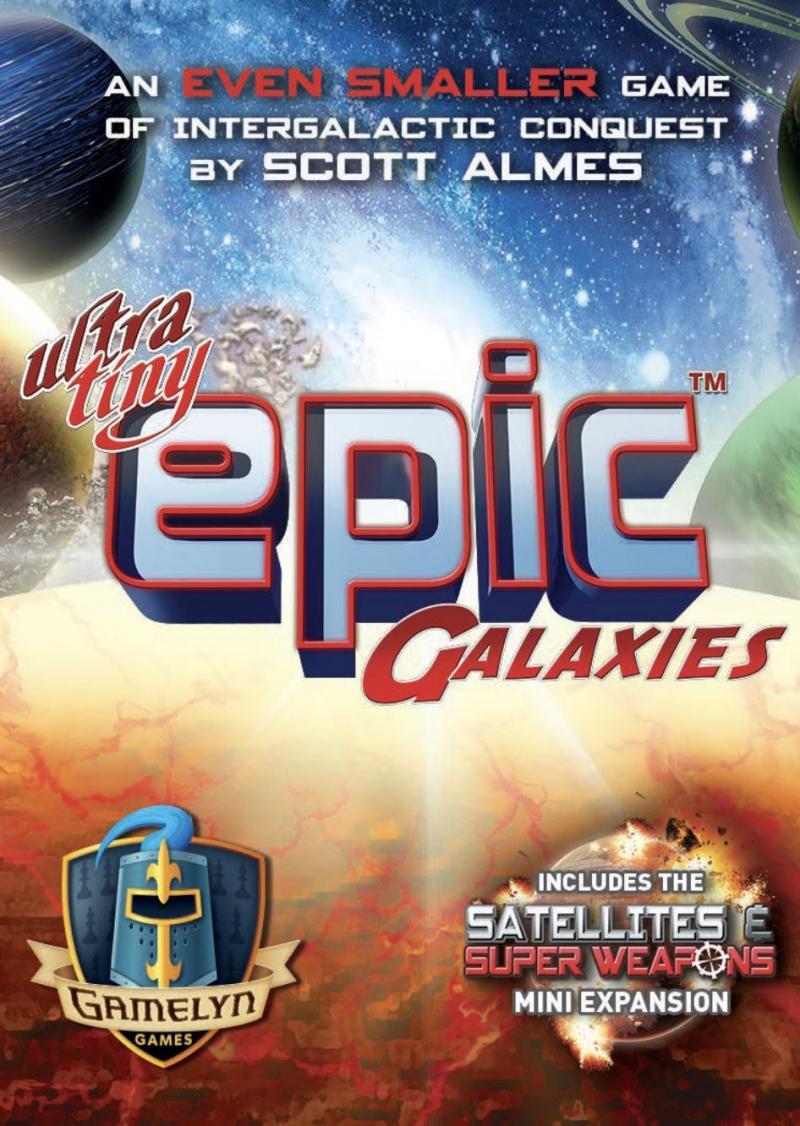 настольная игра Ultra-Tiny Epic Galaxies Ультратонкие эпические галактики