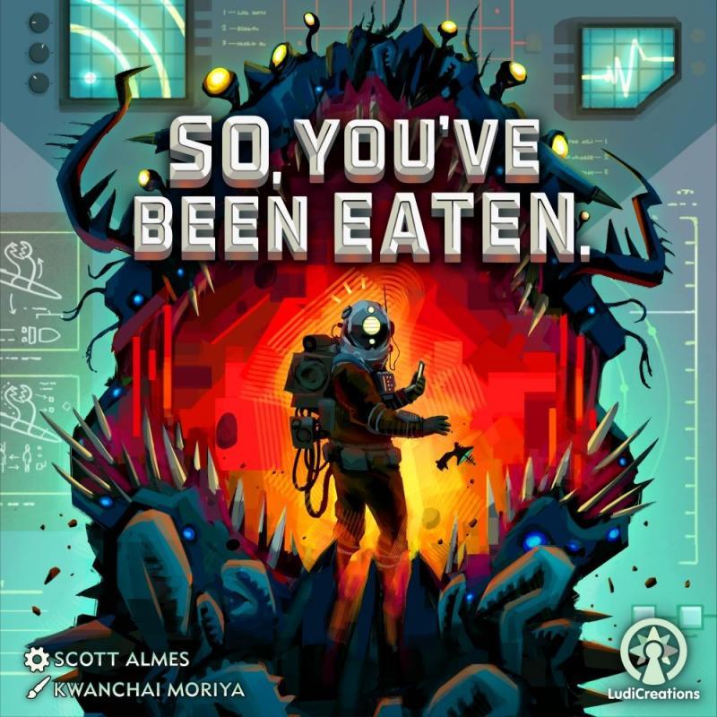 настольная игра So, You've Been Eaten. Итак, вы поели.
