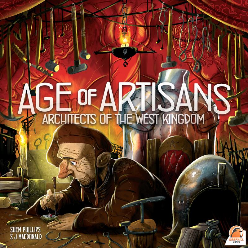 настольная игра Architects of the West Kingdom: Age of Artisans Архитекторы Западного Королевства: Эпоха Ремесленников