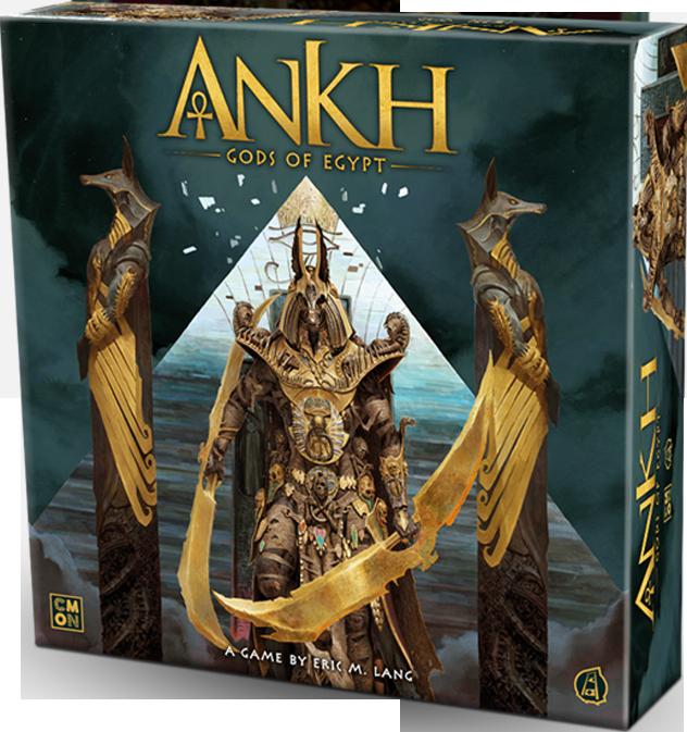 настольная игра Ankh: Gods of Egypt Анкх: Боги Египта