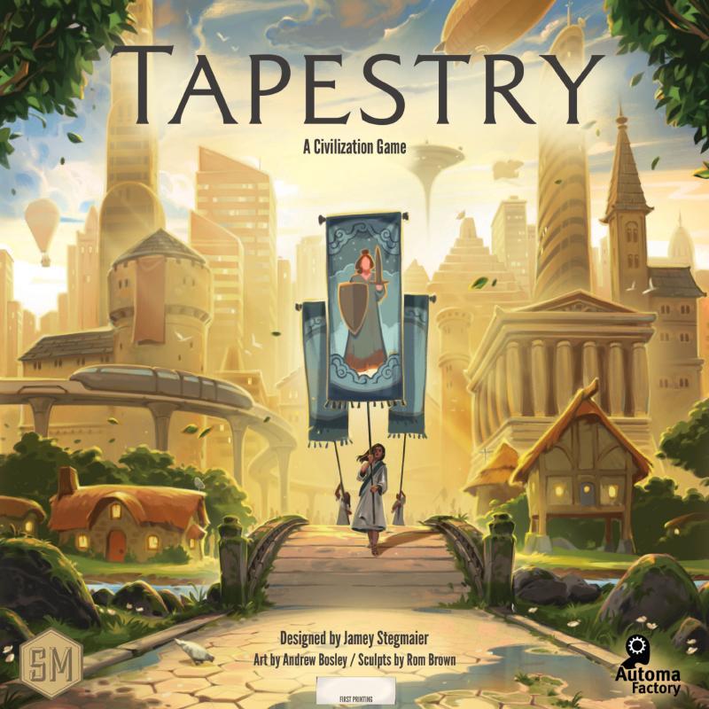 настольная игра Tapestry Гобелен