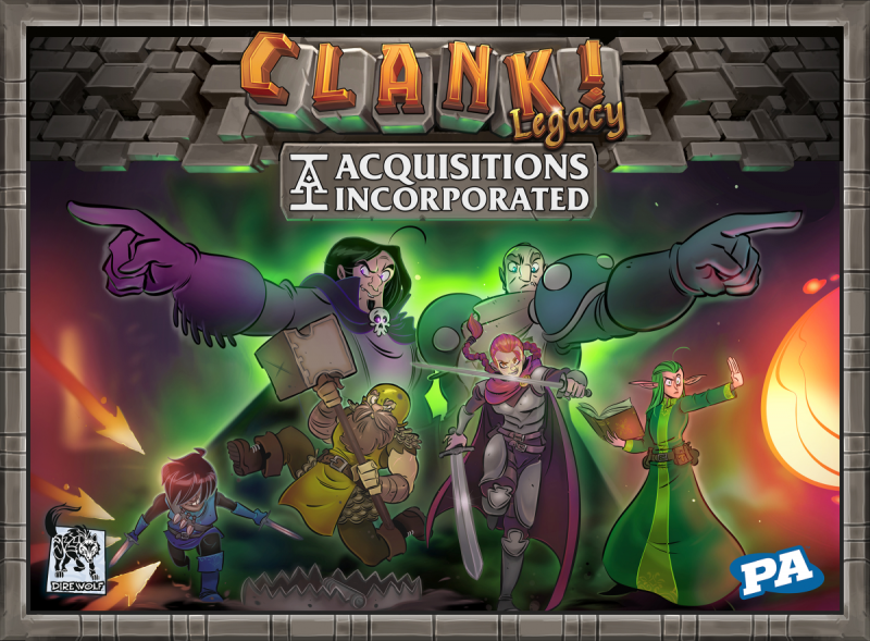 настольная игра Clank! Legacy: Acquisitions Incorporated Clank! Наследие: Приобретение Incorporated