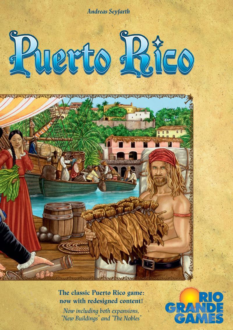 настольная игра Puerto Rico (with two expansions) Пуэрто-Рико (с двумя расширениями)