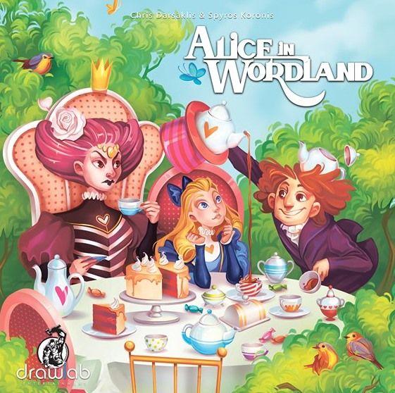 настольная игра Alice in Wordland Алиса в Слове