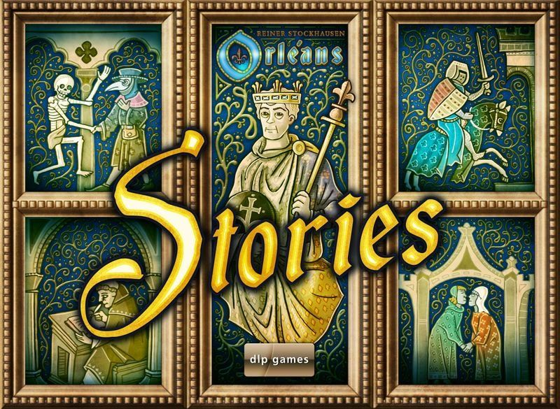 настольная игра Orléans Stories Орлеанские истории