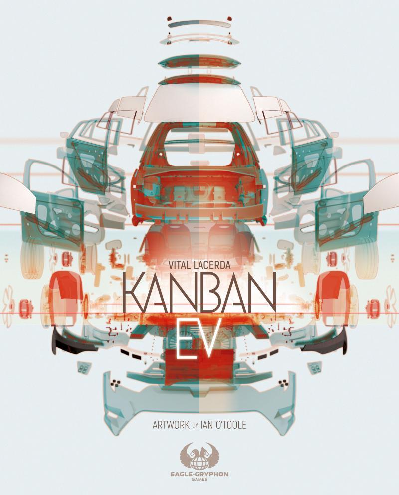настольная игра Kanban EV Канбан Е.В.