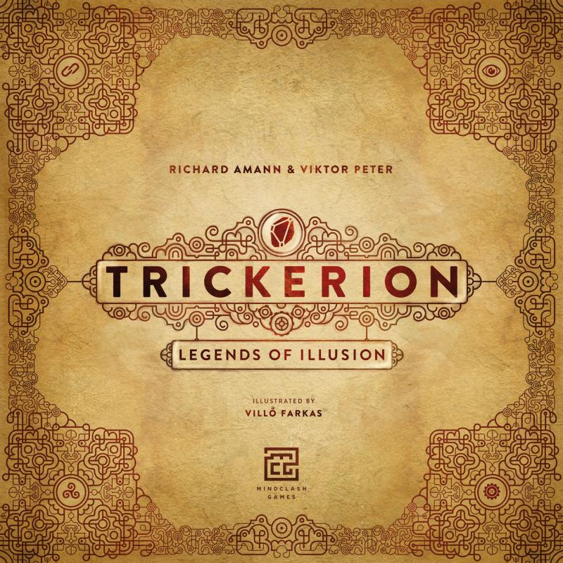 настольная игра Trickerion: Legends of Illusion Трикерион: Легенды Иллюзии