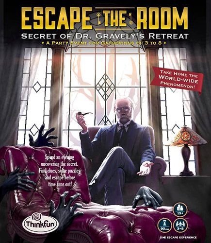 настольная игра Escape the Room: Secret of Dr. Gravely's Retreat Побег из комнаты: секрет отступления доктора Грейвли