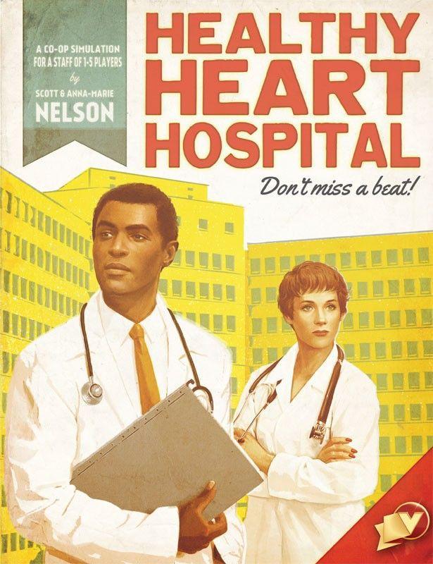 настольная игра Healthy Heart Hospital Больница Здорового Сердца