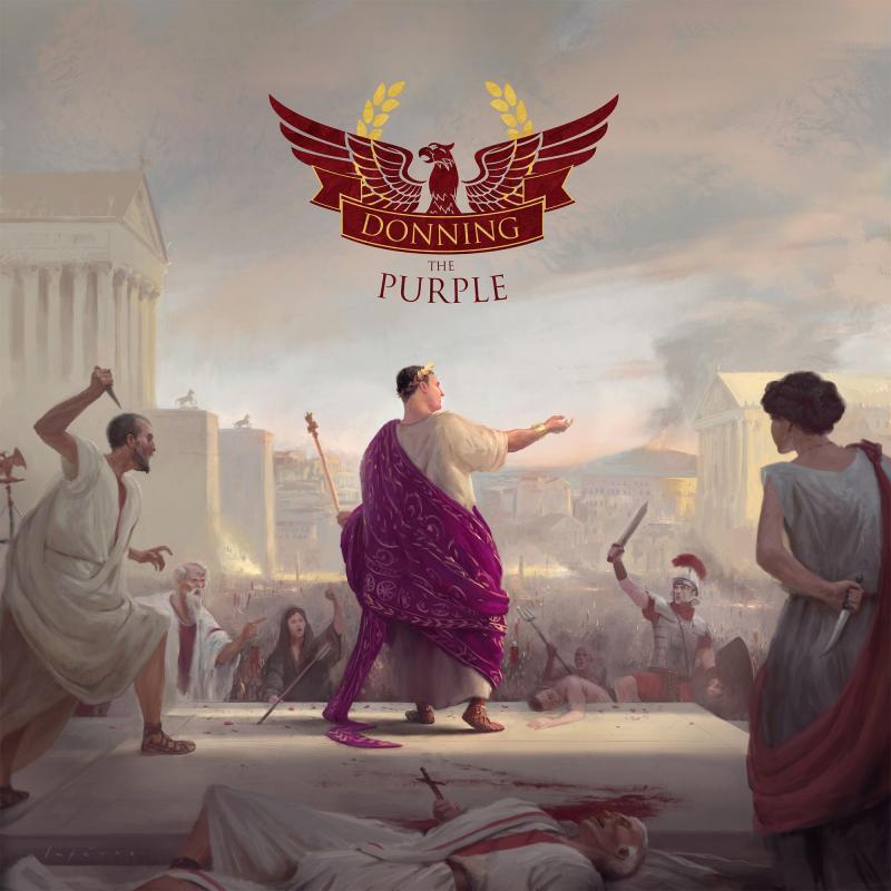 настольная игра Donning the Purple Надевая пурпур