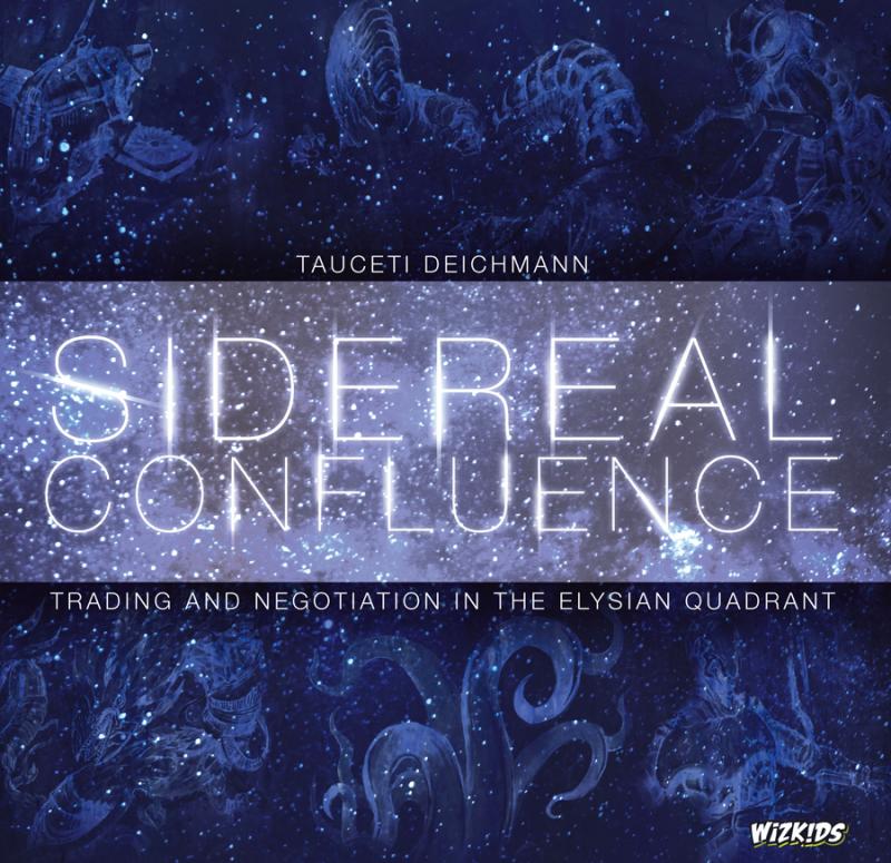 настольная игра Sidereal Confluence: Trading and Negotiation in the Elysian Quadrant Сидерическое Слияние: Торговля и Переговоры в Елисейском Квадранте