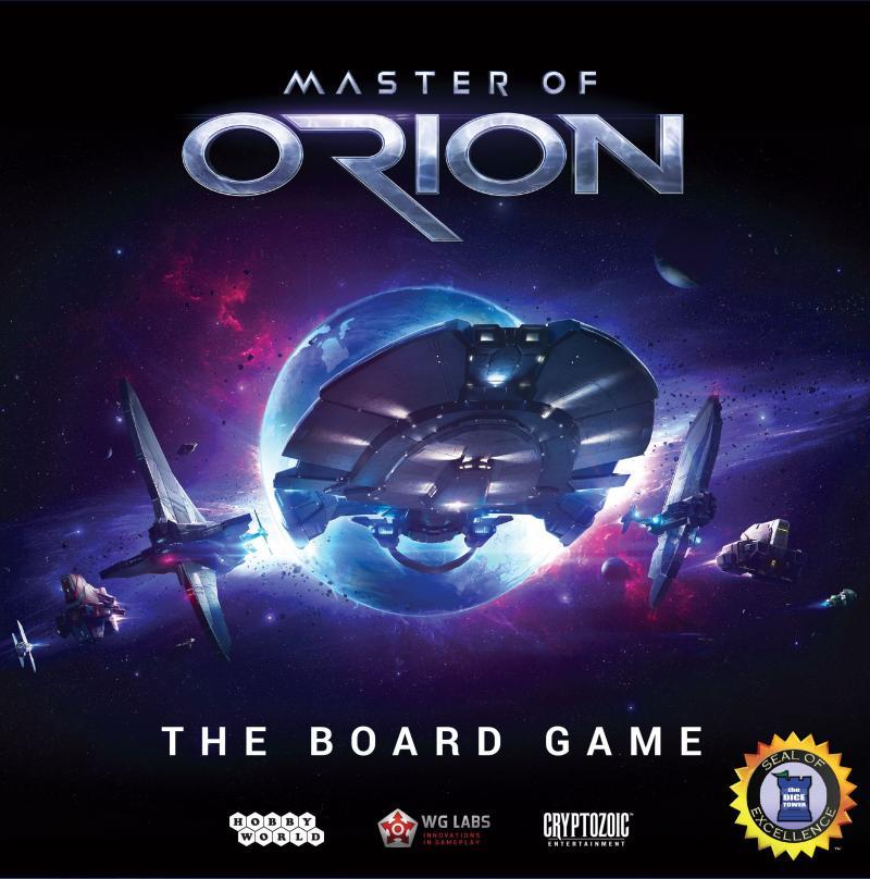 настольная игра Master of Orion: The Board Game Мастер Ориона: настольная игра