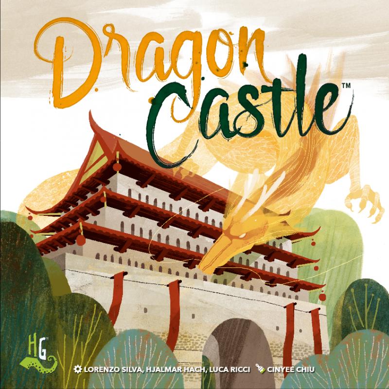 настольная игра Dragon Castle Замок Дракона