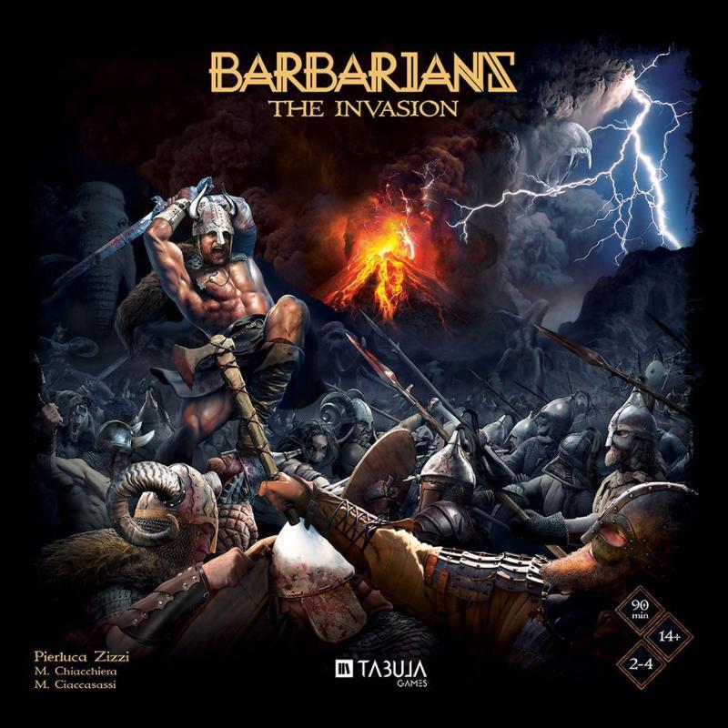 настольная игра Barbarians: The Invasion Варвары: Вторжение