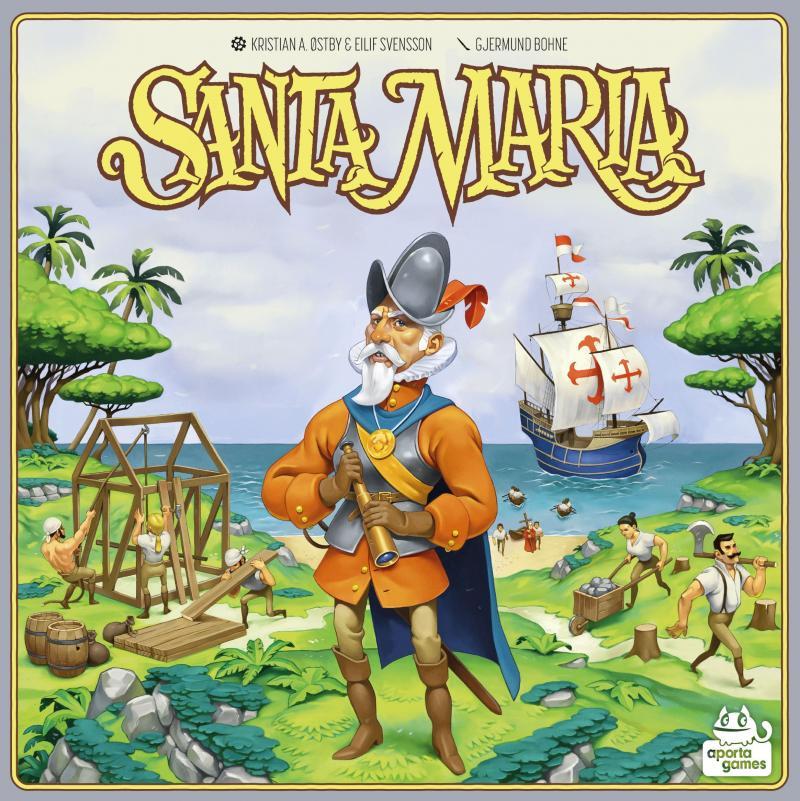 настольная игра Santa Maria Санта Мария