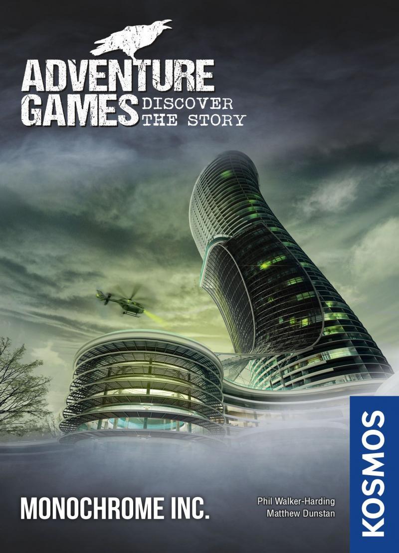 настольная игра Adventure Games: Monochrome Inc. Приключенческие игры: Monochrome Inc.