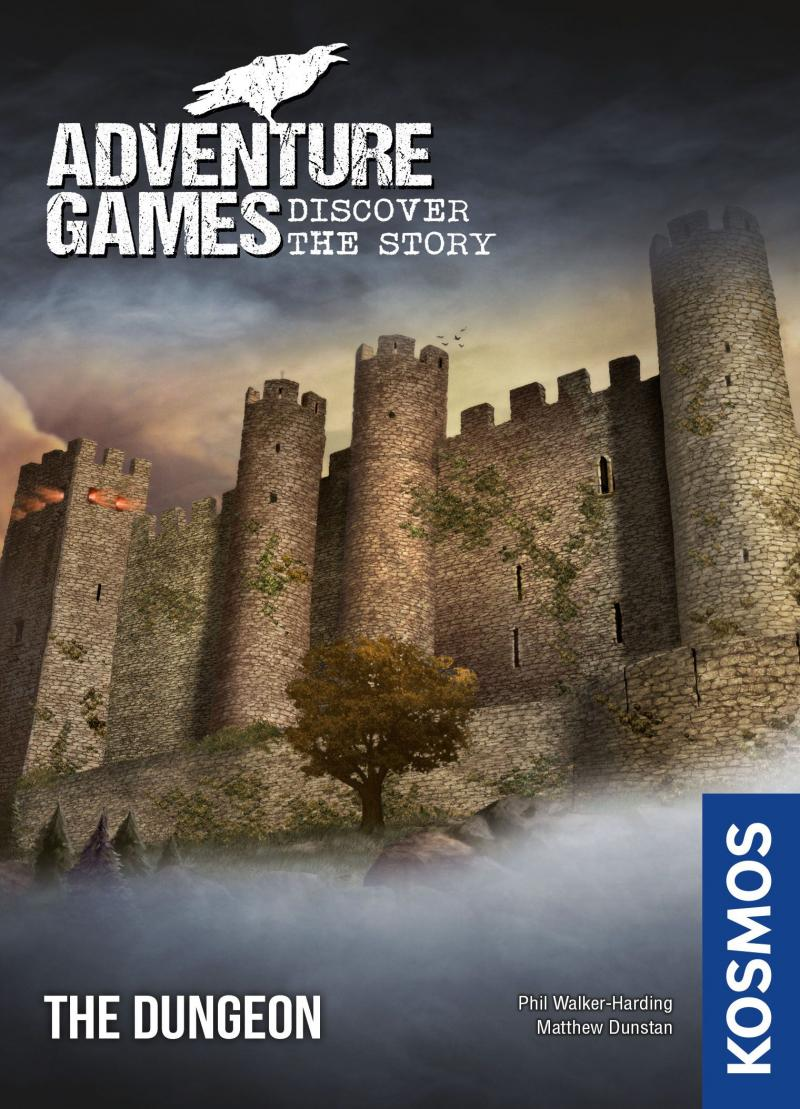 настольная игра Adventure Games: The Dungeon Игры Приключения: Подземелье
