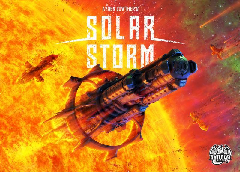настольная игра Solar Storm Солнечный шторм