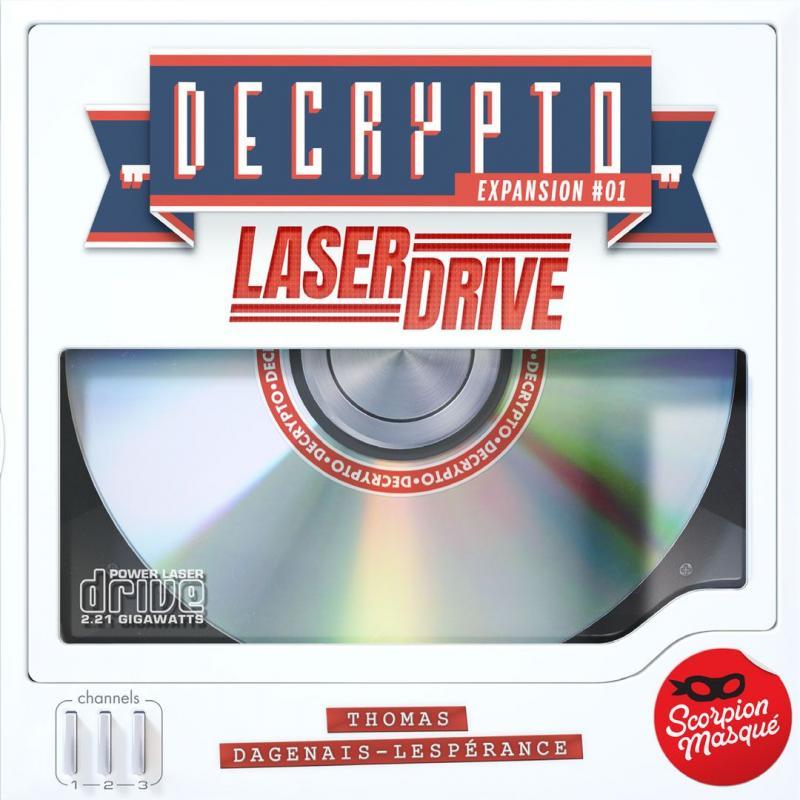 настольная игра Decrypto: Expansion #01 – Laserdrive Расшифровка: расширение # 01 - Laserdrive