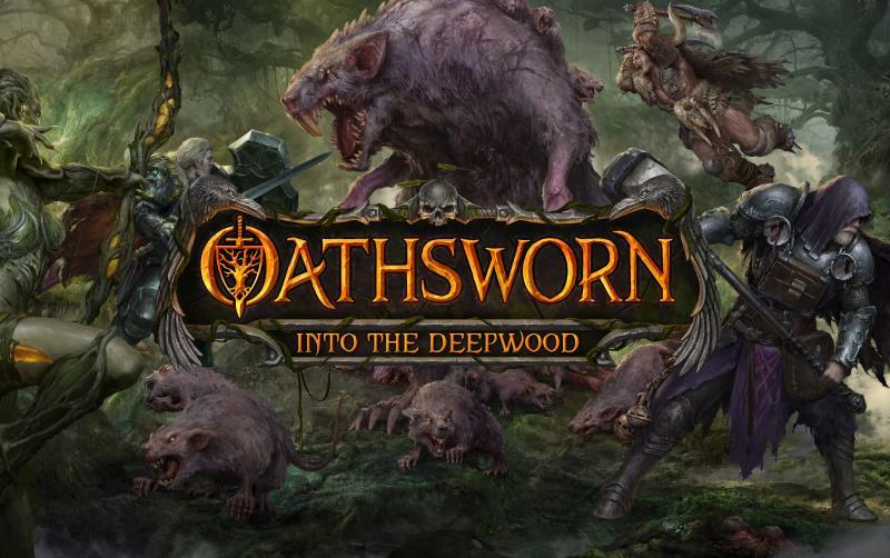 настольная игра Oathsworn: Into the Deepwood Присяга: в глубину