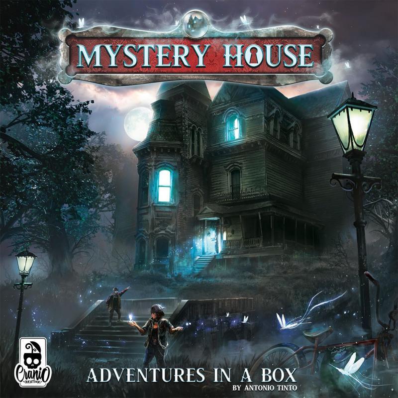 настольная игра Mystery House: Adventures in a Box Mystery House: приключения в коробке