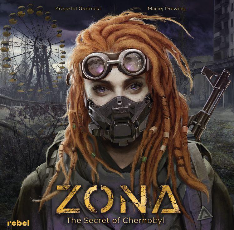 настольная игра Zona: The Secret of Chernobyl Зона: секрет Чернобыля