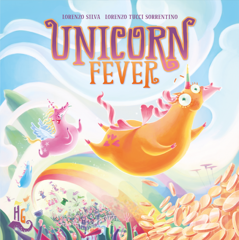 настольная игра Unicorn Fever Единорог лихорадка