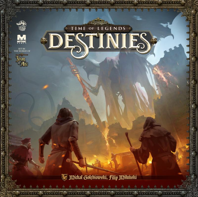 настольная игра Time of Legends: Destinies Время легенд: судьбы