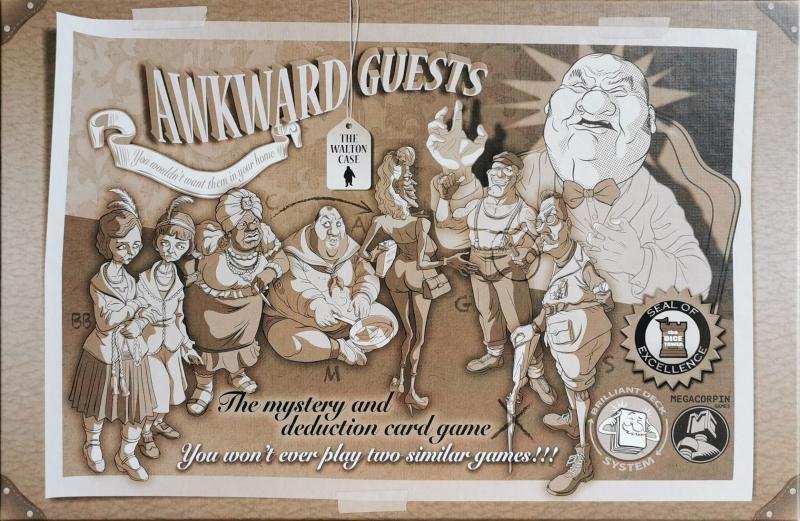 настольная игра Awkward Guests Неловкие гости