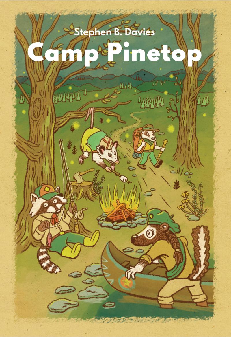 настольная игра Camp Pinetop Лагерь Пинетоп