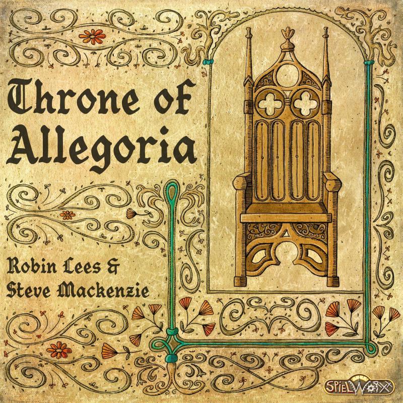 настольная игра Throne of Allegoria Трон аллегории