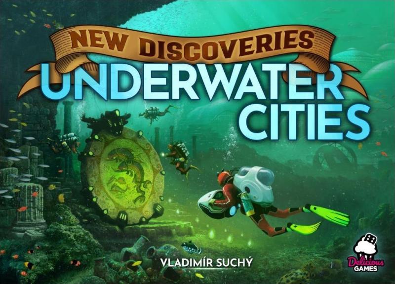 настольная игра Underwater Cities: New Discoveries Подводные города: новые открытия
