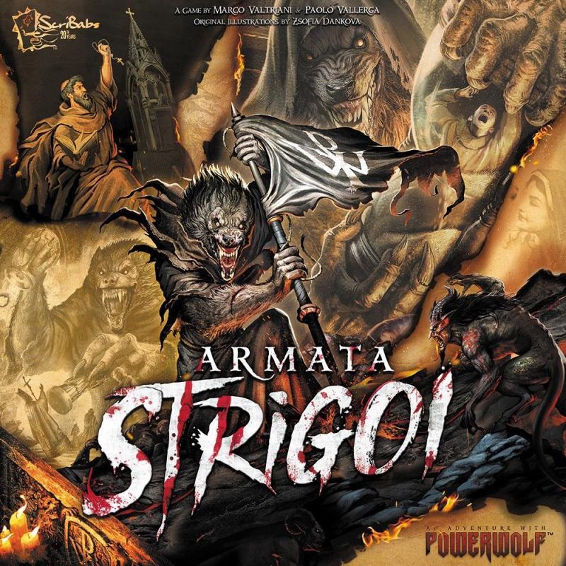 настольная игра Armata Strigoi Армата Стригои
