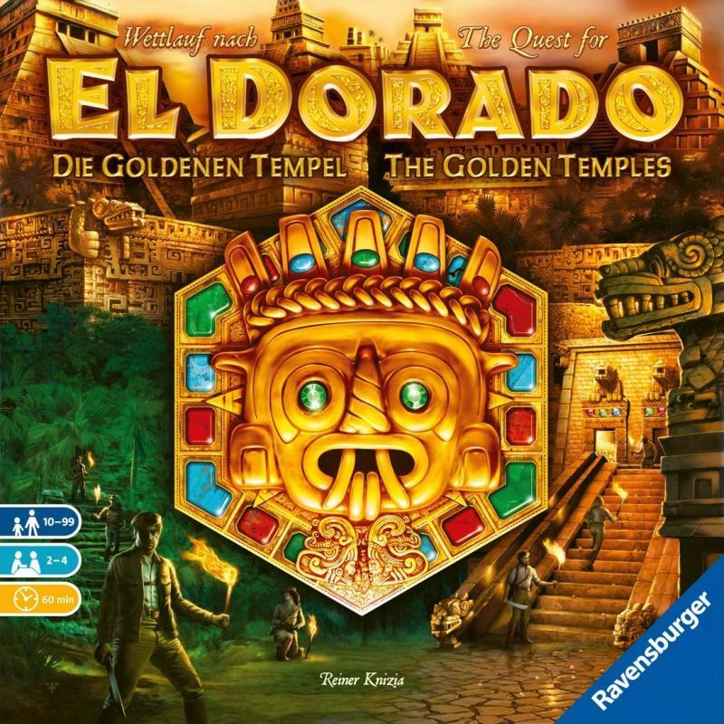 настольная игра The Quest for El Dorado: The Golden Temples В поисках Эльдорадо: Золотые храмы