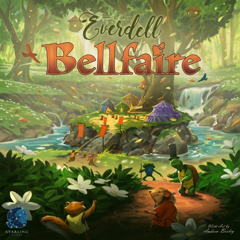 настольная игра Everdell: Bellfaire Эверделл: Bellfaire
