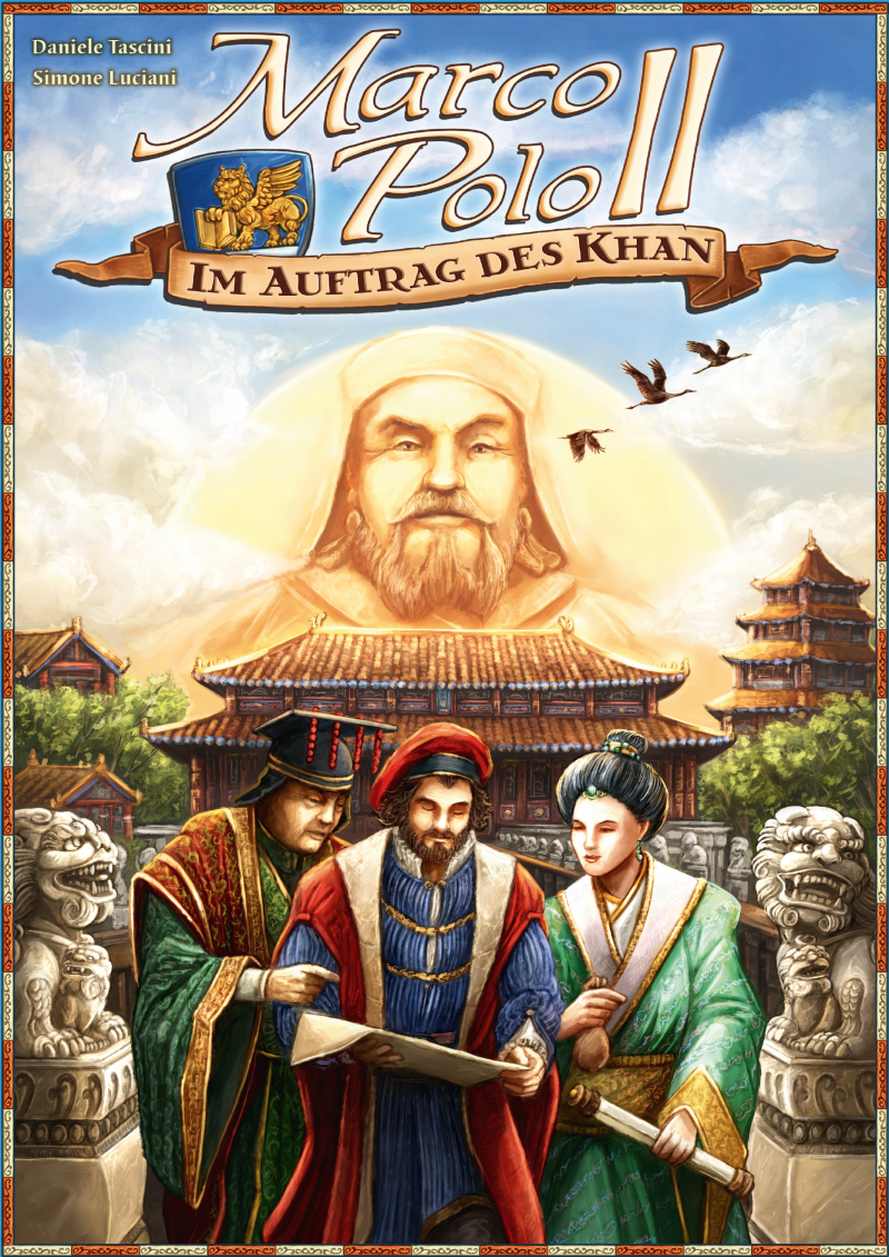 настольная игра Marco Polo II: Im Auftrag des Khan Марко Поло II: Я Auftrag des Khan