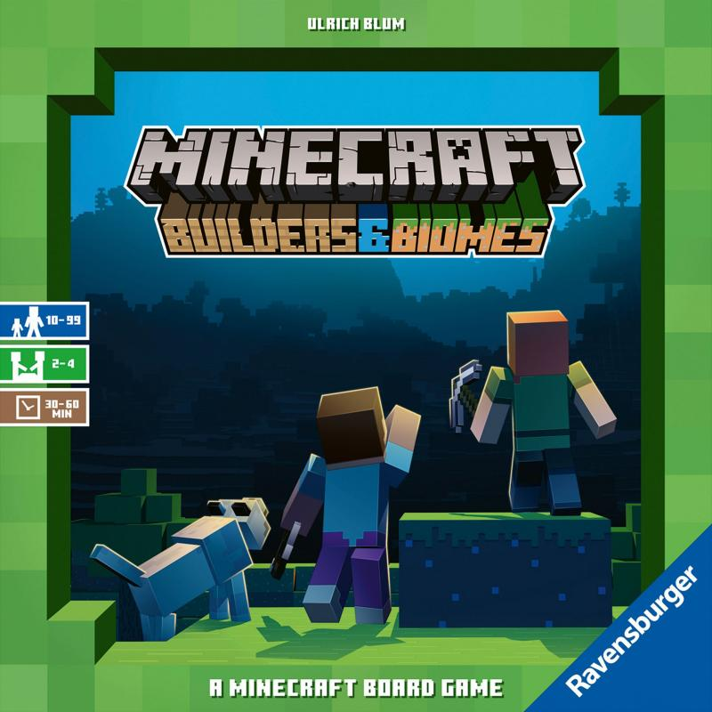 настольная игра Minecraft: Builders & Biomes Minecraft: строители и биомы
