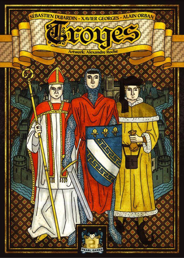 настольная игра Troyes Труа
