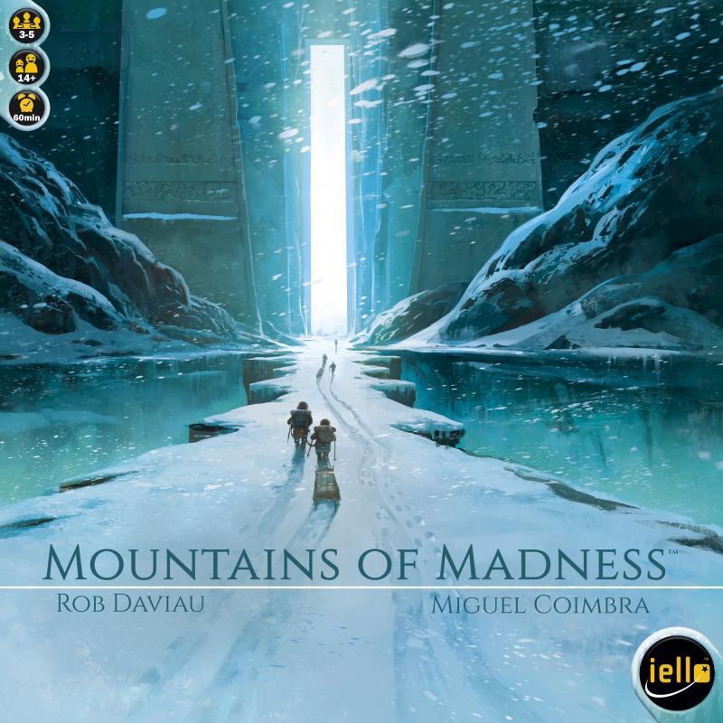 настольная игра Mountains of Madness Горы Безумия