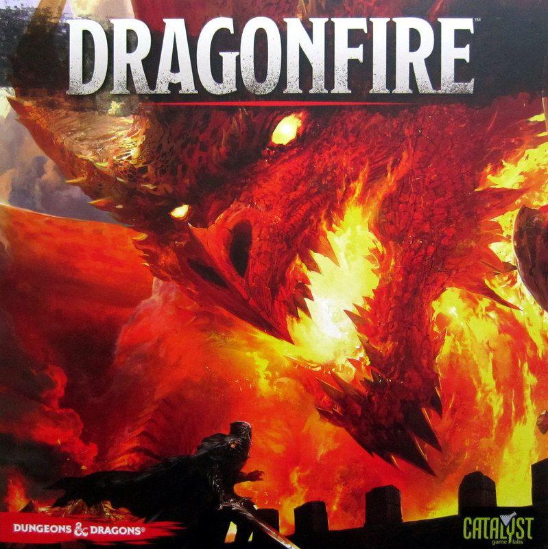 настольная игра Dragonfire Огонь дракона