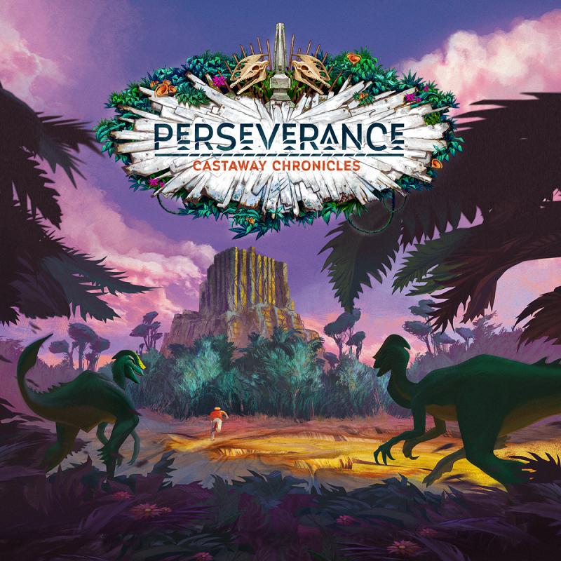 настольная игра Perseverance: Castaway Chronicles Упорство: Castaway Chronicles