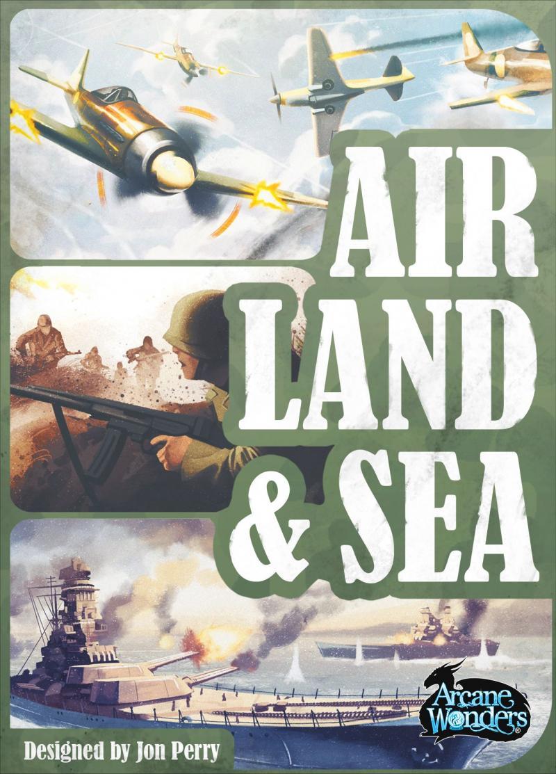 настольная игра Air, Land & Sea Воздух, Земля и Море