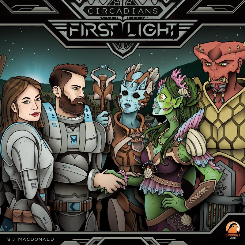 настольная игра Circadians: First Light Черкесы: первый свет