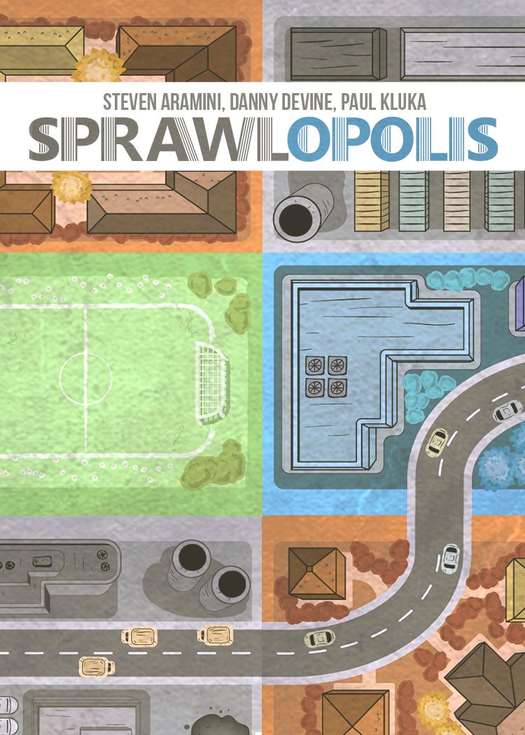 настольная игра Sprawlopolis