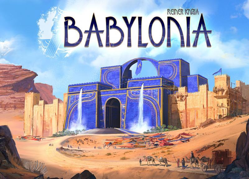 настольная игра Babylonia Вавилония