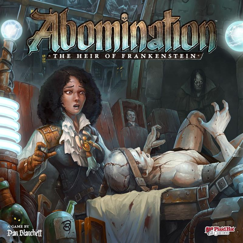 настольная игра Abomination: The Heir of Frankenstein Мерзость: наследник Франкенштейна