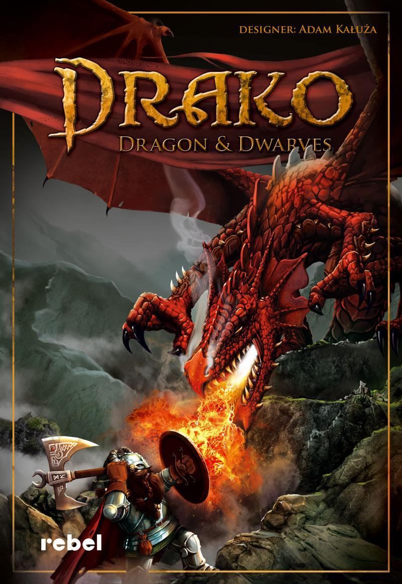 настольная игра Drako: Dragon & Dwarves Драко: Дракон и Гномы
