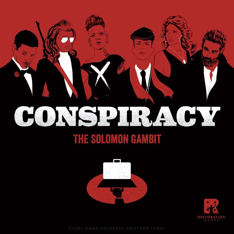настольная игра Conspiracy: The Solomon Gambit Заговор: Соломоновый гамбит